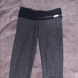 PINK Victoria's Secret Pants & Jumpsuits - PINK reversible grey leggings